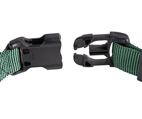 GoGo-Pet-Products-Comfy-Nylon-38-Inch-Adjustable-Pet-Collar-X-Small-Hunter-Green-0-1