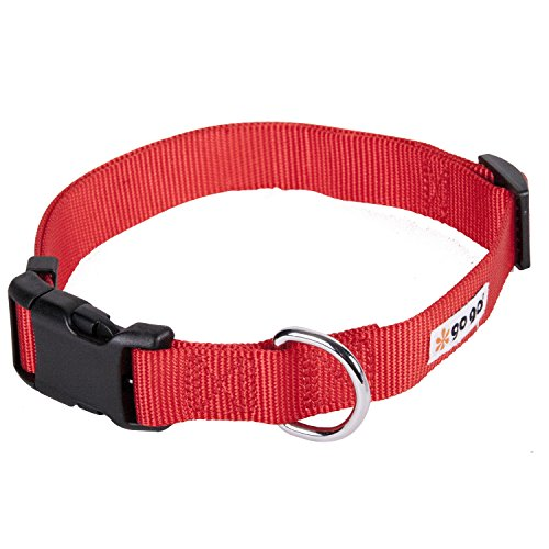 GoGo-Pet-Products-Comfy-Nylon-38-Inch-Adjustable-Pet-Collar-X-Small-Red-0-0