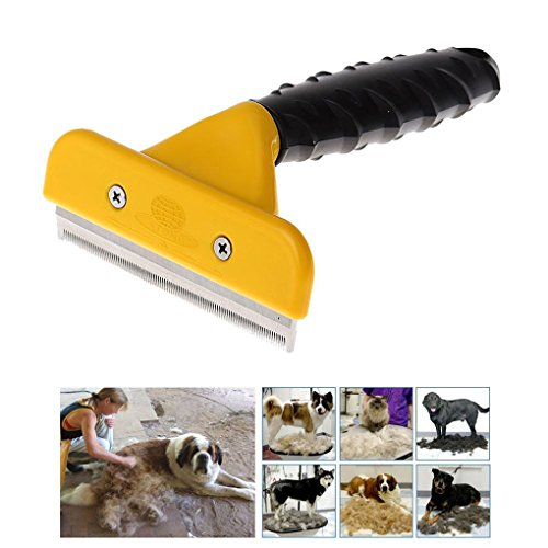 Greenery-Safe-Sanitary-Pet-Grooming-Comb-Brush-Trimmer-Shaver-Clipper-Shedding-Demanting-Tool-for-Small-Medium-Large-Dogs-Cats-with-Short-to-Long-Hair-0