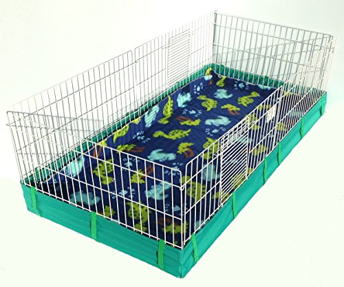 Guinea-Pig-Bedding-Fleece-Cage-Liners-Super-Absorbent-Fits-Midwest-Guinea-Habitat-Plus-Cage-Fleece-Bedding-Washable-Reusable-Available-if-Many-Colors-0-0