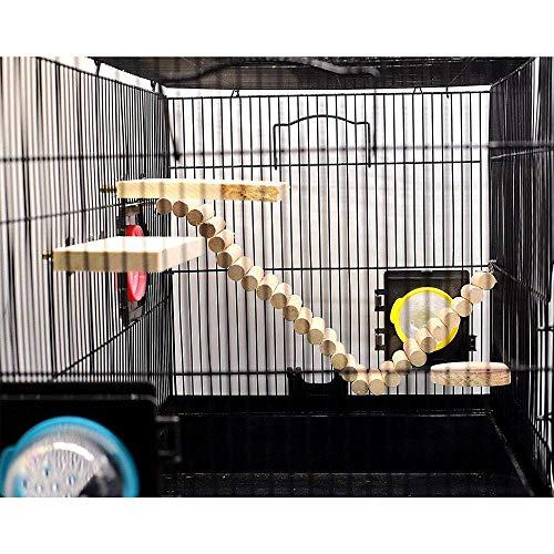 Hamster-Bridge-Hamsters-Wood-Swing-Small-Pet-Ladder-Stand-Platform-Hamster-Cage-Accessories-Wood-Bridge-for-Small-Animal-Hamster-Wooden-Toys-Bridge-Wooden-Suspension-Swing-Flexible-0-0