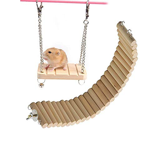 Hamster-Bridge-Hamsters-Wood-Swing-Small-Pet-Ladder-Stand-Platform-Hamster-Cage-Accessories-Wood-Bridge-for-Small-Animal-Hamster-Wooden-Toys-Bridge-Wooden-Suspension-Swing-Flexible-0