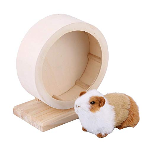 Hamster-Small-Pets-Wooden-House-Funny-Wheel-Running-Rest-Nest-Playing-Exercise-Toy-Cage-Accessory-0-2
