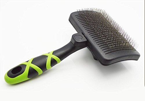 HelloPet-USA-Large-Self-Cleaning-Slicker-Brush-0