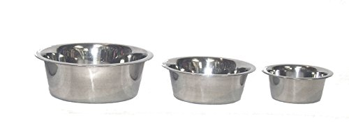Hilo-Stainless-Steel-Double-Diner-Pet-Feeding-Dish-0-0
