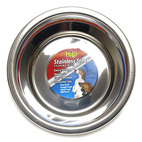 Hilo-Stainless-Steel-Double-Diner-Pet-Feeding-Dish-0-1