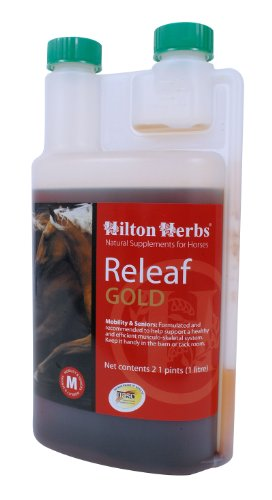 Hilton-Herbs-Releaf-Gold-Herbal-Mobility-Supplement-for-Horses-21pt-Bottle-0