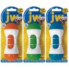 JW-Pet-46118-EverTuff-Squeaky-Barbell-Toys-for-Pets-Large-Assorted-ColorsWhite-with-Orange-Green-or-Blue-0