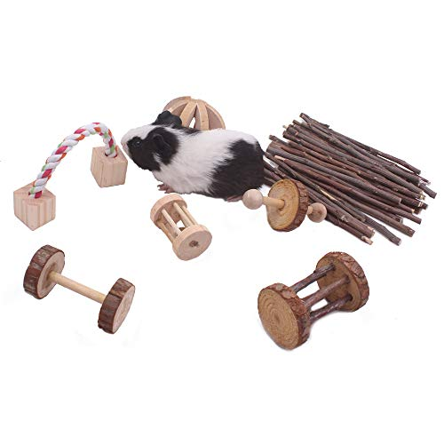 JanYoo-Guinea-Pig-Toys-Chinchilla-Hamster-Roller-Rat-Chews-Toys-Bunny-Rabbits-Bird-Exercise-Molar-Wooden-for-TeethPack-of-7-0-1