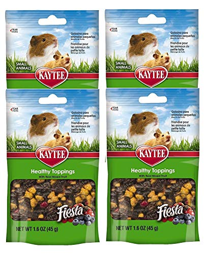 Kaytee-Fiesta-Healthy-Toppings-Mixed-Fruit-Treat-for-Small-Animals-Rabbits-Guinea-Pigs-Hamsters-Gerbils-Mice-and-Rats-0