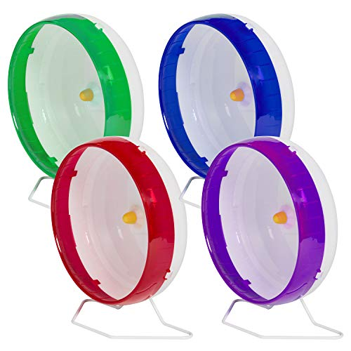Kaytee-Silent-Spinner-10-Exercise-Wheel-Large-Colors-May-Vary-0-2