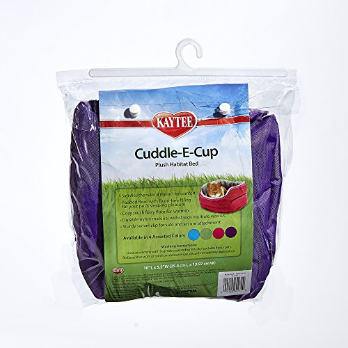 Kaytee-Super-Sleeper-Cuddle-E-Cup-Bed-for-Small-Animals-Colors-Vary-0-1