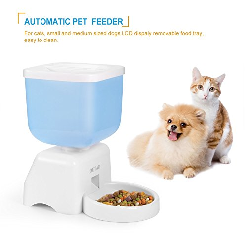 LCD-Dispaly-5-Liters-Capacity-Pet-Automatic-Feeder-with-Voice-Recorder-and-Timer-Programmable-for-Medium-and-Small-Animals-Dogs-and-Cats-Bucket-Feeder-0-0