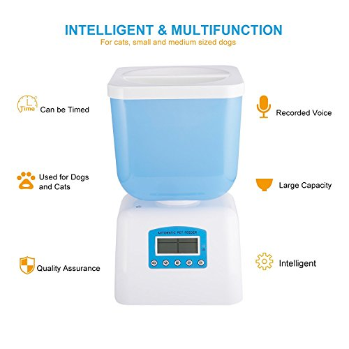 LCD-Dispaly-5-Liters-Capacity-Pet-Automatic-Feeder-with-Voice-Recorder-and-Timer-Programmable-for-Medium-and-Small-Animals-Dogs-and-Cats-Bucket-Feeder-0-1