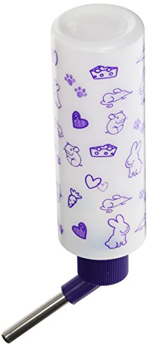 Lixit-Corporation-SLX0535-12-Pack-Critter-Brites-Small-Animal-Water-Bottles-8-Ounce-Day-Glow-0