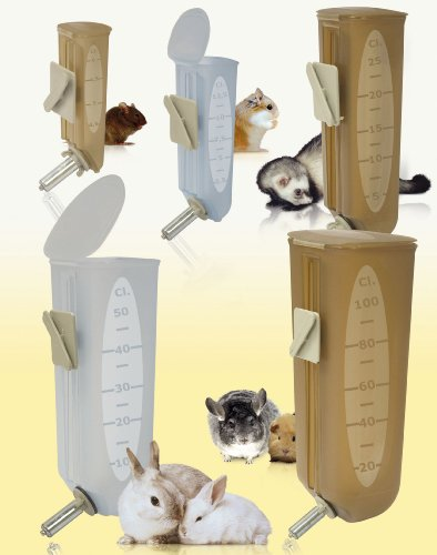 Marchioro-Siwa-3-No-Drip-Water-Bottle-for-Small-Animals-225-inches-Colors-Vary-0-0