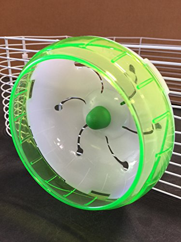 Mcage-Lot-of-2-Accessory-Kit-Exercise-Running-Wheel-for-Hamsters-Gerbils-or-Mice-0