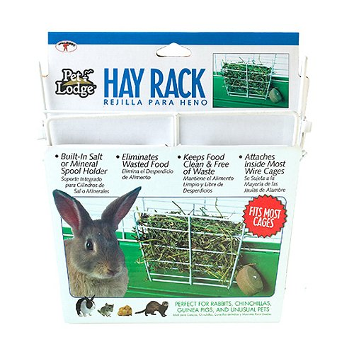 Miller-Manufacturing-153171-Wire-Rabbit-Hay-Rack-for-Cages-0