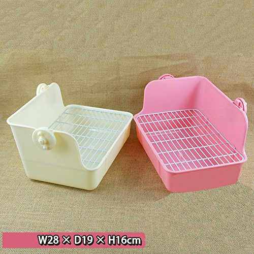 Misyue-Litter-Pan-Guinea-Pig-Square-Potty-Trainer-Corner-Litter-Bedding-Box-Pet-Pan-for-Small-AnimalRabbitGuinea-PiggalesaurFerret-0-0