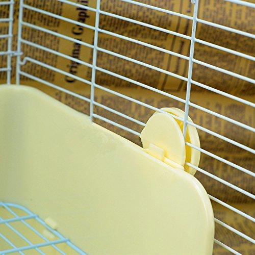 Misyue-Litter-Pan-Guinea-Pig-Square-Potty-Trainer-Corner-Litter-Bedding-Box-Pet-Pan-for-Small-AnimalRabbitGuinea-PiggalesaurFerret-0-2