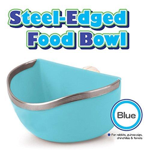 Mkono-Plastic-Cage-Feeder-Food-n-Water-Hay-Bowl-Dish-for-Rabbit-Guinea-Pig-Chinchilla-Hamster-Ferret-Random-Color-0-1