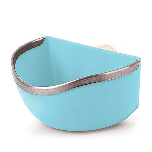 Mkono-Plastic-Cage-Feeder-Food-n-Water-Hay-Bowl-Dish-for-Rabbit-Guinea-Pig-Chinchilla-Hamster-Ferret-Random-Color-0
