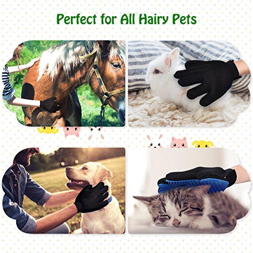 Mpow-Pet-Grooming-Glove-Efficient-Dog-Hair-Remover-Mitt-Cat-Gentle-Deshedding-Brush-Glove-Gentle-Massaging-Tool-with-Enhanced-Five-Finger-Design-Perfect-for-Pets-2-Pack-Right-Handed-Only-Blue-0-2