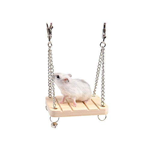 Naisidier-Dwarf-Hamster-House-Durable-Odorless-Non-Toxic-Deluxe-Two-Layers-Wooden-Hut-for-Hamster-Toys-0-1