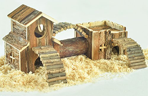 Niteangel-Natural-Living-Tunnel-System-Small-Animal-House-0
