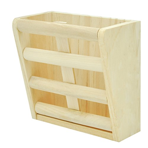 Niteangel-Natural-Wooden-Hay-Manger-Feeder-for-Rabbits-Chinchilla-Hamster-and-Guinea-Pigs-0
