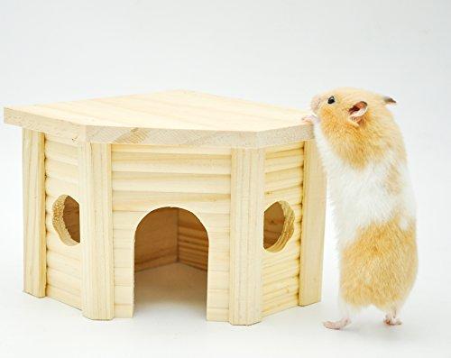 Niteangel-Wooden-Hamster-House-Small-Animal-Nesting-Habitat-0