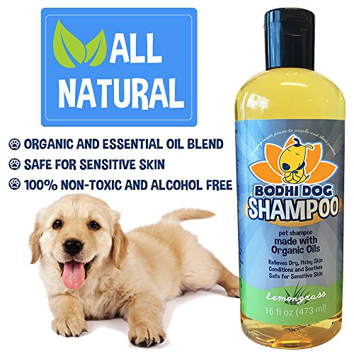 Organic-Dog-Shampoo-Soothing-All-Natural-Hypoallergenic-Pet-Shampoo-Dogs-Cats-Certified-to-USDA-Food-Standards-100-Non-Toxic-Made-in-USA-1-Bottle-16oz-473ml-0-1