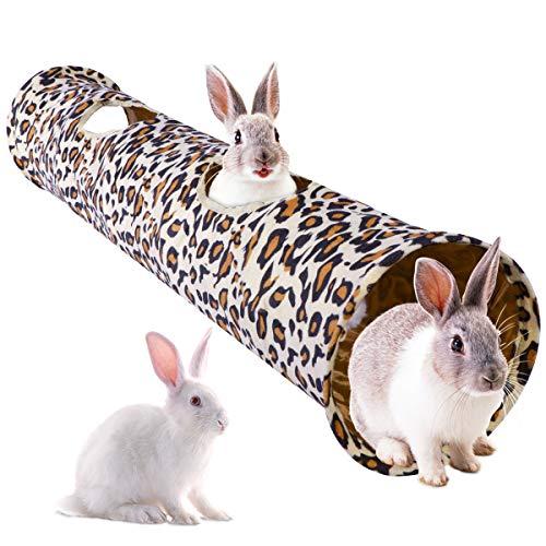 POPETPOP-Rabbit-ToysCat-Toys-Collapsible-Tunnel-Dog-Tube-for-Fat-CatDogsSmall-Pet-Length-47-Diameter-10-0