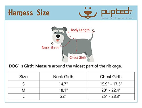 PUPTECK-No-Choke-Safety-Dog-Harness-No-Pull-Vest-for-Small-Puppy-Freedom-Walking-0-1