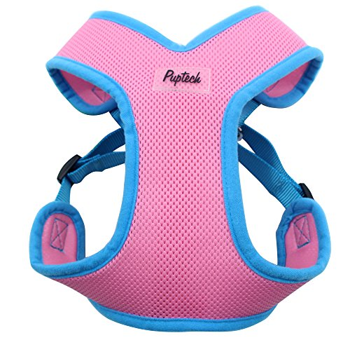 PUPTECK-No-Choke-Safety-Dog-Harness-No-Pull-Vest-for-Small-Puppy-Freedom-Walking-0