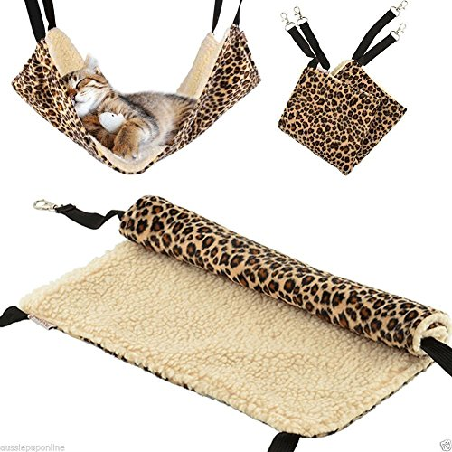 Pelay-Cat-Hanging-Ferret-Pet-Cage-Kitten-Hammock-Bed-Pad-Leopard-Print-Color-0-1