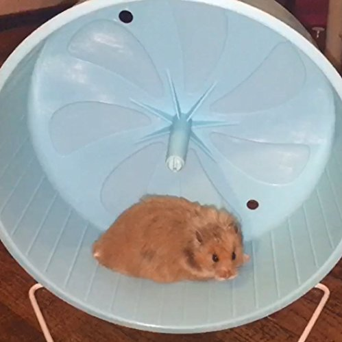 Penn-Plax-8-Exercise-Wheel-Perfect-For-Rats-Hamsters-Mice-Gerbils-and-Other-Small-Animals-0-1