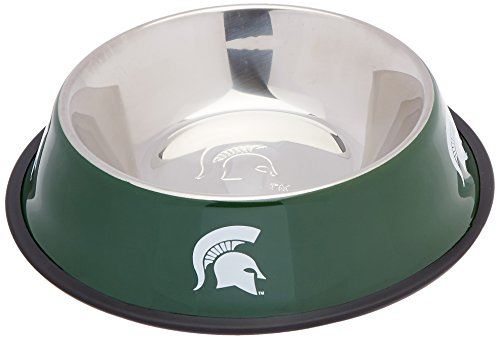Pet-Goods-NCAA-Michigan-State-Spartans-Stainless-Steel-Bowl-0