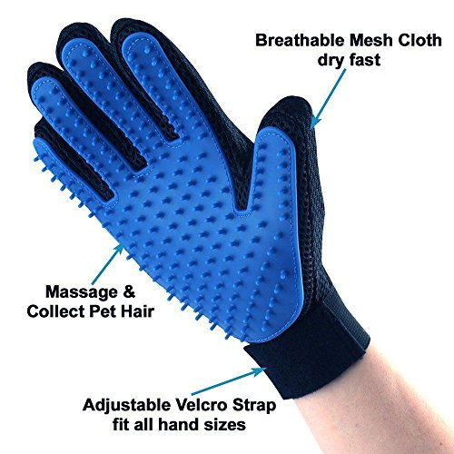 Pet-Grooming-Glove-and-Deshedding-Glove-Brush-Best-for-Dogs-Cats-Long-Short-Fur-Massage-Tool-with-Enhanced-Five-Finger-Design-0-0
