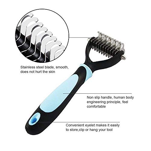 Petbob-Grooming-BrushPet-Cosmetic-Brush-SetAnti-Static-Trimming-Kit-Deshedding-Brush-Dematting-Comb-Dogs-Cats-Hair-Fur-Removal-0-1