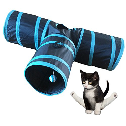 Pevor-Collapsible-3-Way-Cat-Tunnel-Toys-Indoor-Outdoor-Pet-Cats-Training-Toy-House-Toys-Bed-For-Kitten-Rabbit-Puppy-0-0