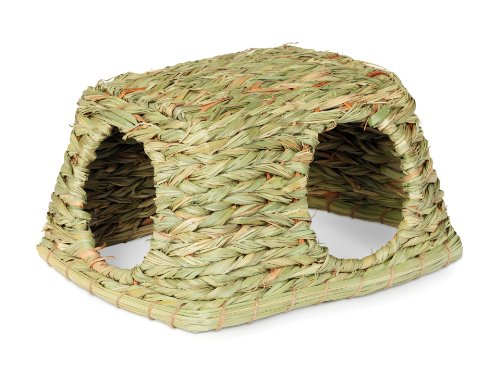 Prevue-Hendryx-1097-Natures-Hideaway-Grass-Hut-Toy-Medium-0