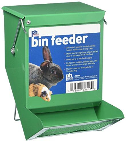 Prevue-Pet-Products-SPV3500-Metal-Small-Animal-Bin-Feeder-Green-0