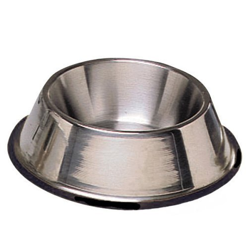 Pro-Select-Stainless-Steel-X-Super-Heavyweight-Non-Tip-Pet-Bowl-6-Inch-1-12-Pint-0
