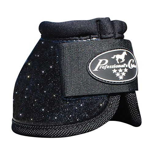 Professionals-Choice-EQUINE-SECURE-FIT-HOOF-OVERREACH-BELL-BOOTS-GLITTER-SIZES-0-0