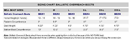 Professionals-Choice-Horse-Equine-Overreach-Ballistic-Bell-Boots-Sunburst-0-0