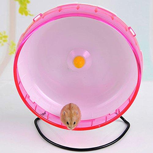 Qin-ChenChen-Hamster-Pet-Exercise-Silent-Wheel-Running-Spinner-Toy-Random-Color-0-0