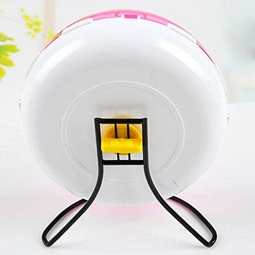 Qin-ChenChen-Hamster-Pet-Exercise-Silent-Wheel-Running-Spinner-Toy-Random-Color-0-2