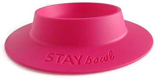 STAYbowl-Tip-Proof-Bowl-for-Guinea-Pigs-and-Other-Small-Pets-Fuchsia-Pink-Large-34-Cup-Size-New-0