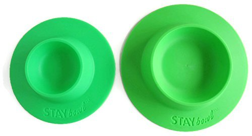 STAYbowl-Tip-Proof-Bowl-for-Guinea-Pigs-and-Other-Small-Pets-Spring-Green-Large-34-Cup-Size-New-0-0